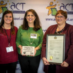 2018 Milestone in Prevention Awards Caldwell County Cares Coalition, Kingston MO