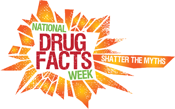 NIDA Shatter the Myths Drug Facts Week Logo